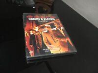 OCEAN'S ELEVEN DVD George Clooney Matt Damon Brad Pitt Sigillata Nuovo