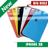 For iPhone XR Big Hole Rear Glass Battery Back Cover Housing Replacement