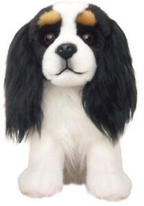 """Cavalier Tri-Colour Faithful Friends Soft Toy Dog 12"""""""