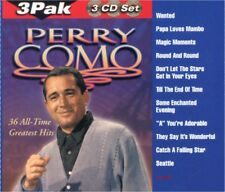 PERRY COMO 36 All-Time Greatest Hits RARE OUT OF PRINT DELUXE 3 CD BOX SET