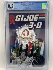 Blackthorne 3-D Series #26 G.I. Joe #4 2nd Print Misprinted As #2 CGC 8.5 1989