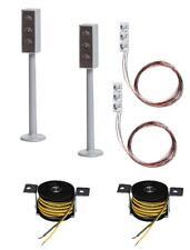 Faller 161656 HO Car-System 2 LED-Ampeln mit Stopp-Stellen #NEU in OVP##