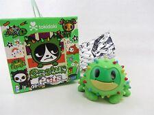 "Roger Green Smiling Frog - Sandy's Cactus Pets Vinyl Figure Tokidoki approx 2"""