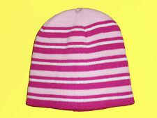 Bonnet pour enfants bonnet Fille Bonnet Tricoté Hiver taille unique rose neuf