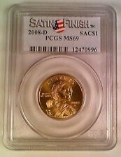 2008-D Native American Dollar PCGS MS69 Satin Finish