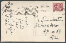 Estonia 1922 Domestic Post card with Mi 35B