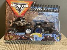 Monster Jam Monster Trucks Color Change 2 Pack- RACING STRIPES & SAN-UVA DIGGER