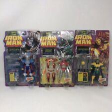 Lot of 3 IronMan 1996 Toybiz Figures