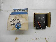 1970 Dodge Monaco & Polara Temperature Gauge NOS Part Number #2984930 W/Orig Box