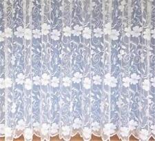 "POPPY WHITE NET CURTAIN SAMPLE - Half Meter 36"" - Try before you buy more"