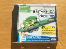 Vintage PC Advisor Software CD-ROM, Encyclopaedia Britannica Ecosystems + More