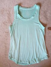 WOMEN'S AMERICAN EAGLE AEO SOFT & SEXY FAVORITE TURQUOISE TANK TOP SHIRT XSMALL