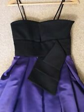 John Charles Boutique Black and purple prom evening  Dress Size xSmall (6)