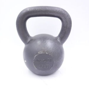 Single Yes4All 35LB Solid Cast Iron Kettlebell (35 Pounds Total)