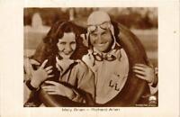CPA MARY BRIAN. RICHARD ARLEN. Ross Verlag 5146/1 FILM STAR (601366)