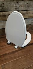 Mayfair 143Slow 000 Slow-Close, Removable Enameled Wood Toilet Seat
