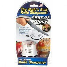 GENUINE Edge of Glory Knife Sharpener Tungsten Teeth As Seen On TV
