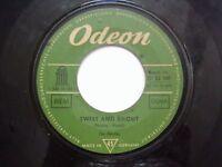 "THE BEATLES boys/twist & shout RARE SINGLE 7"" 45 GERMANY VG-"