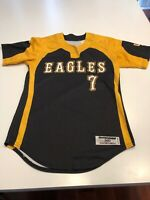 Game Worn Used Southern Mississippi Golden Eagles Softball Jersey Medium #7