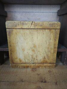 Antique Wooden Farmhouse Kitchen Cutting Board - Bread Board