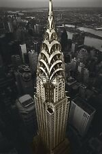 (LAMINATED) CHRYSLER BUILDING NYC POSTER (61x91cm)  NEW WALL ART