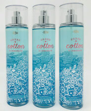 Sheer Cotton & Lemonade Bath & Body Works fine fragrance mist spray set of 3