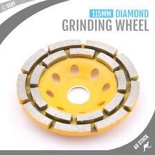 Brand New 115mm Diamond Grinding Concrete Cup Wheel Disc Concrete Masonry Stone