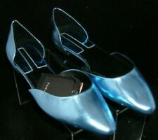 df971a73e2b Zara Basic Collection sky blue pointed toe slip on d orsay ballet flats 6.5  37