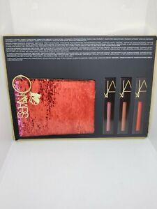 New in Box Nars Studio 54 All Access Powermatte Lip Pigment Set w/ Cosmetic Bag