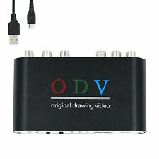 ODV Composite RCA / S-Video / YPbPr to HDMI Converter