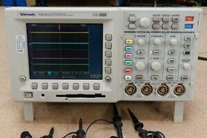 Tektronix TDS 3014 100MHz 4 Channel Digital Phosphor Oscilloscope DSO TDS3014