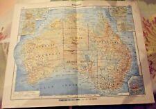 1962 Carte & Image Australie Pearl Harbour,plantages d'ananas hawaï,camberra