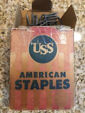 Vintage Poultry Fence Chicken Coop Uss American Staples United States Steel Corp