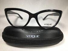 🔸NEW AUTHENTIC VOGUE VO2865 W44 BLACK EYEGLASSES 54mm w/Case