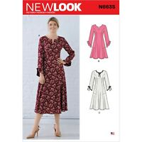 New Look Ladies Sewing Pattern 6341 Princess Seam Bodice Dresses NewLook-6341
