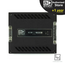 Banda Ice X 3002 - 3000 Watts RMS 2 Ohm Car Amplifier 3000W - 3 Day Delivery