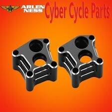 Arlen Ness Lifter Block Cover 10 Gauge Black 2001-2016 Harley Twin Cam 12-573