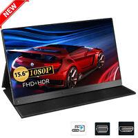 "New 15.6"" Type C USB C Mini IPS HDR Screen Display Portable Monitor 1920x1080 US"