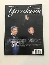 New York Yankees 2001 Torre/Bush on Cover Yankees Magazine Ex/Mint Condtion