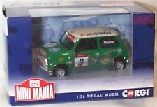 Mini se7en Racing club Darren Thomas Corgi Car 2012 New In Box Corgi ltd ed