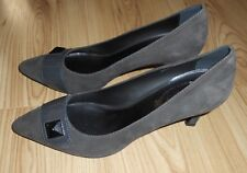 New TOD'S grey suede shoes EU41 UK7 RRP £350