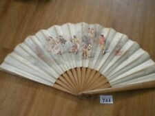 VINTAGE DECORATED HAND FAN