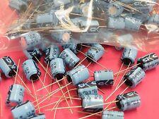 Rubycon Condensador electrolítico Radial 100x 470uF 16v 10.3mm*12.4mm R16-470 SB6