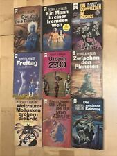 Heyne Science Fiction: Konvolut 9x Robert A. Heinlein: Utopia 2300, Freitag ?