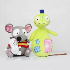 New TOOPY and BINOO PATCHY PAT Set Plush Soft Doll Toy Collectible Xmas Gift