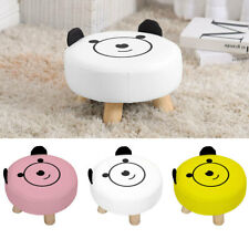 Kids Animal Patten Stools Footstools Pouffe FootRest Seat Stool Gift Child Seat