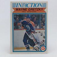 1982-83 OPC O Pee Chee Wayne Gretzky 107 Edmonton Oilers Hockey Card F079