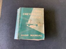 Vintage Oem 1960 Chevrolet Truck Shop Manual