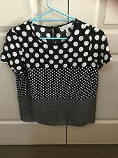Women's Capture Short Sleeve Top - Size 10 - Brand New