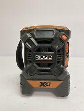 Ridgid R84084 18V AM/FM MP3 Job Site Cordless Mini Radio 12/B2806A